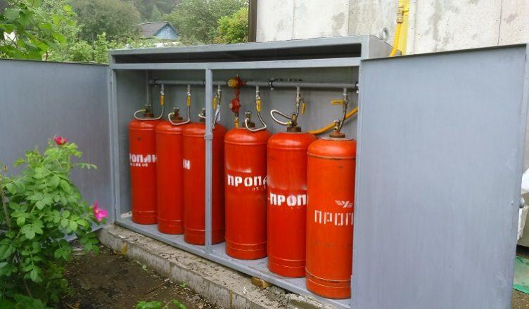Как установить газ на даче своими руками 66