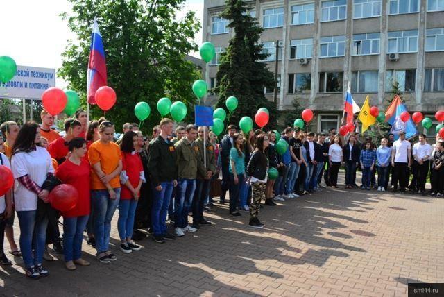 ВБелгороде открыли трудовой семестр студенческих отрядов
